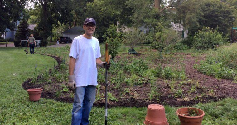 Neighbors adopt Civic Center garden