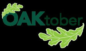 Oaktober logo from Chicago Region Trees Initiative