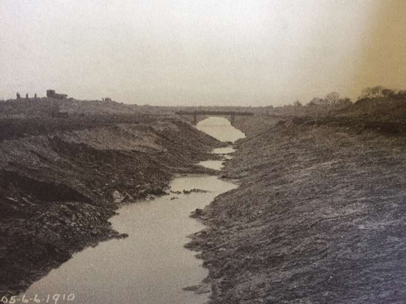 Channel looking SW in 1910